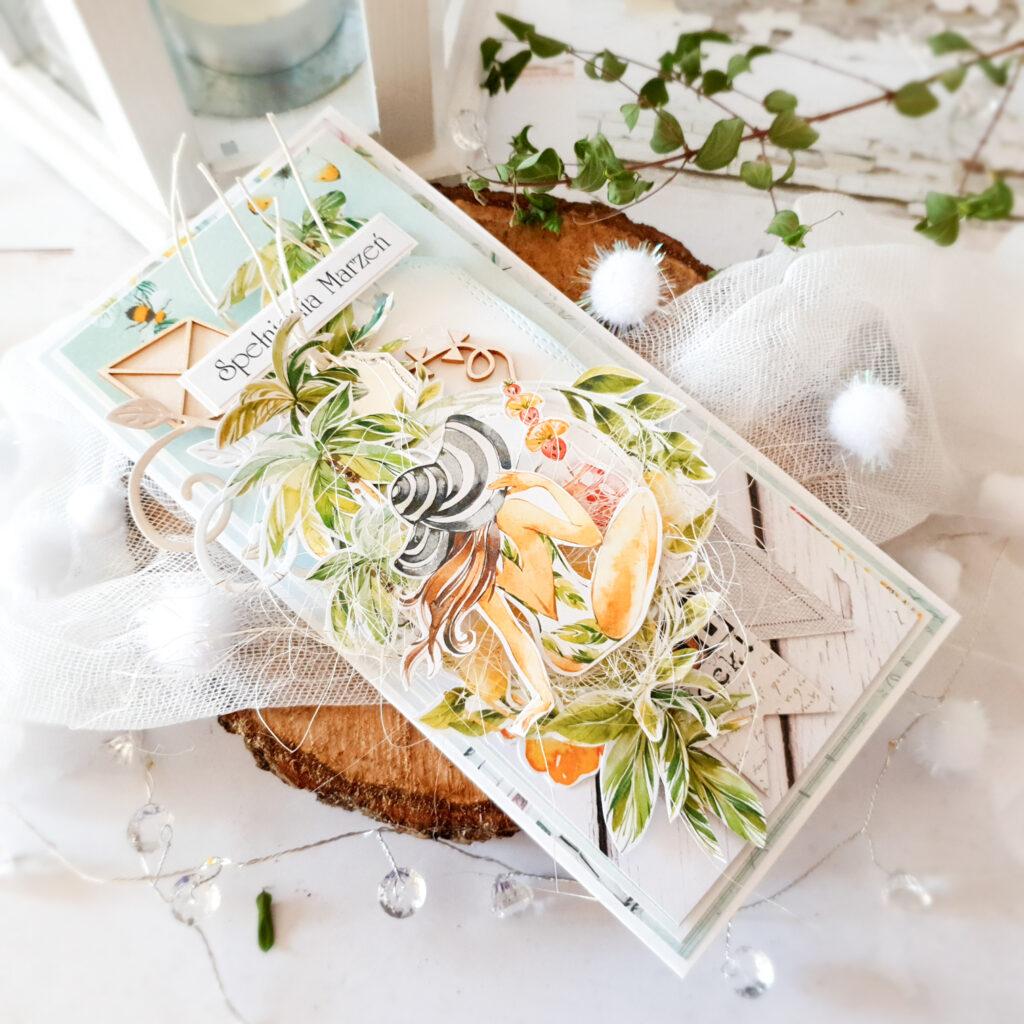 Kartka ręcznie robiona na urodziny