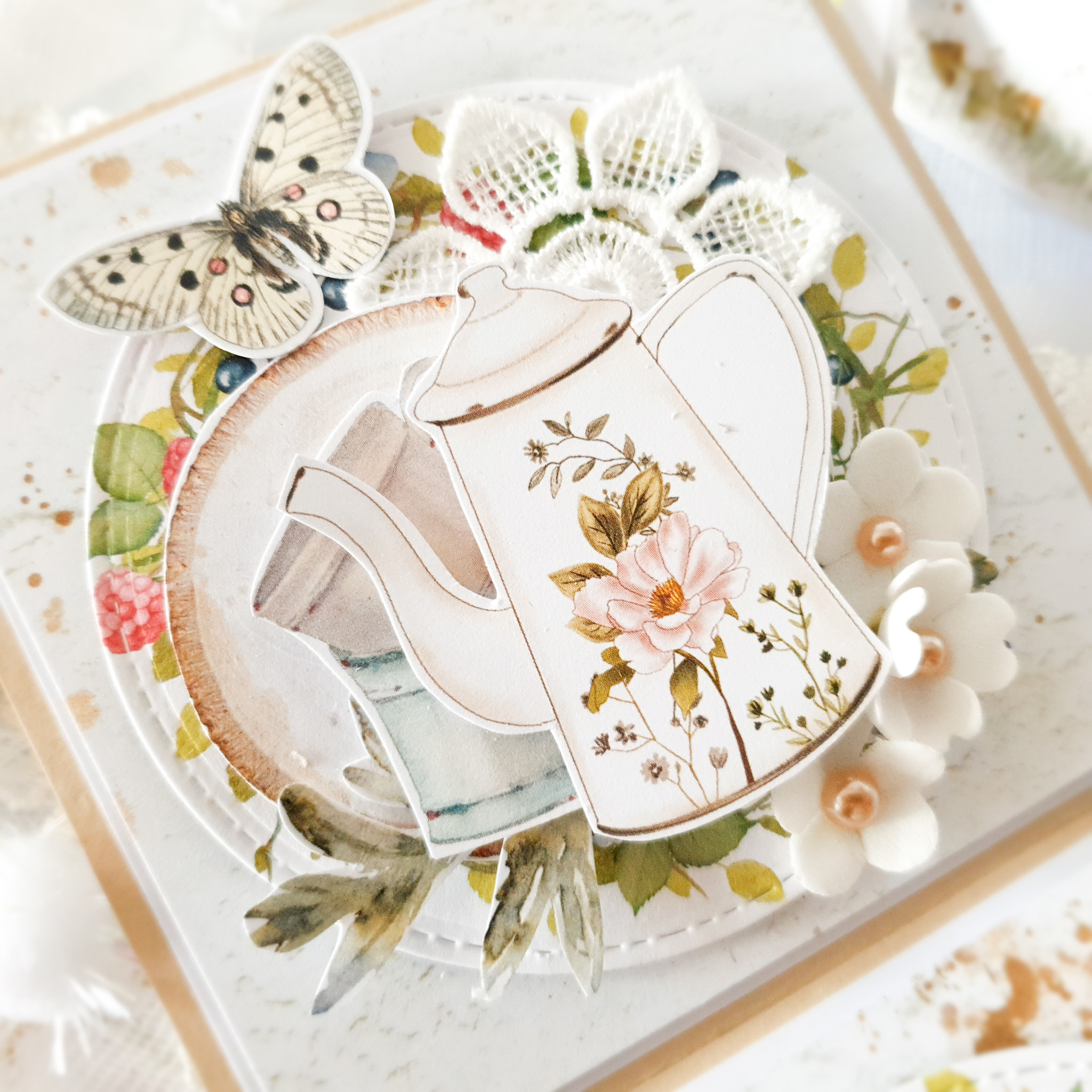 Pudełko ręcznie robione na urodziny