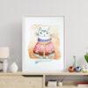 Plakat specjalnie dla miłośników kotów