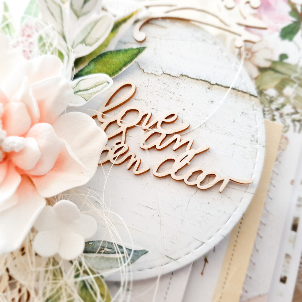 Kartka ręcznie robiona na Walentynki