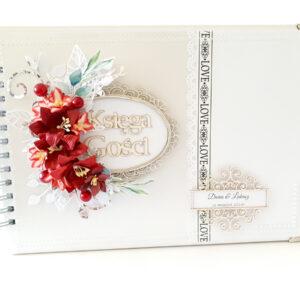 Księga gości ręcznie robiona na ślub 2
