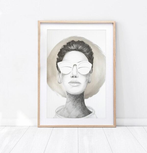 "Plakat ""Portret"""